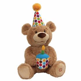 HAPPY BIRTHDAY! THE ANIMATED BEAR SOFT TOY BY GUND