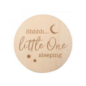 ssshhh! Little One Sleeping Milestone Disc