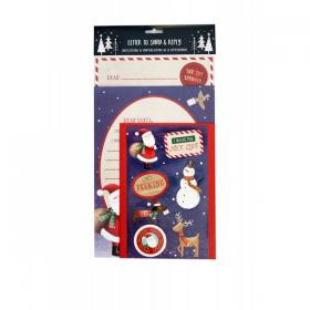 Letter to Santa and Reply pack