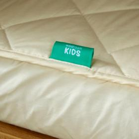COT SIZE 100% hypoallergenic and natural.  mattress protector