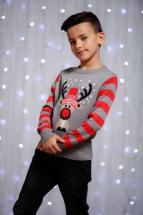 Kids Reindeer Christmas Jumper