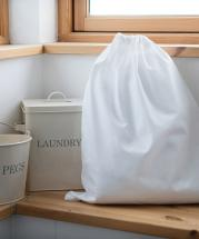Draw String 100 % Cotton Laundry, Multi purpose  Bag
